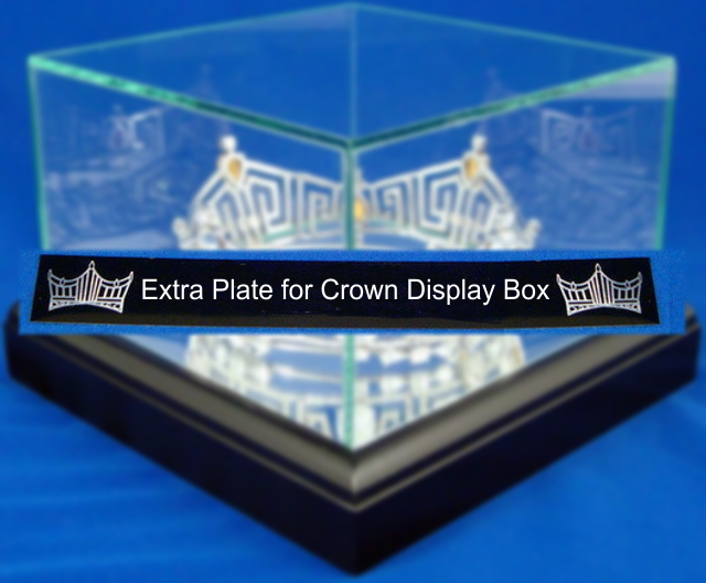 Extra Plate for Crown Display Box