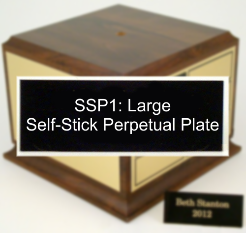 SSP2: Large Self-Stick Perpetual Plate-Plate-Schoppy's Since 1921