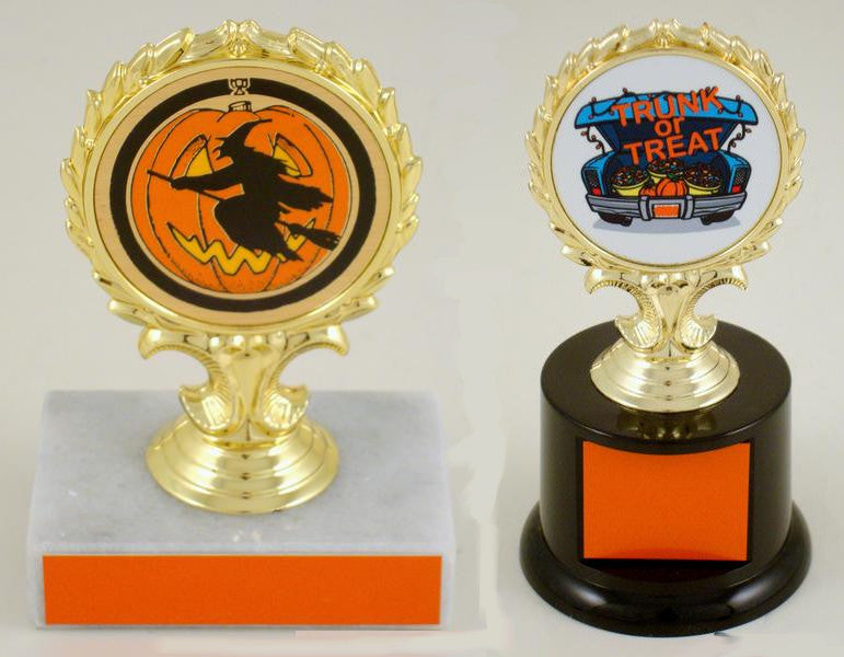Halloween Trophy With Logo
