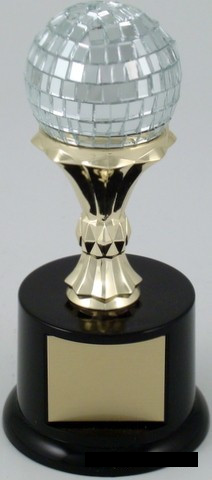 Disco Ball Trophy-Trophies-Schoppy's Since 1921
