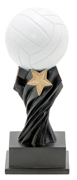 Volleyball Tempest Resin Trophy-Trophies-Schoppy's Since 1921