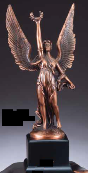 Winged Victory Resin Trophy-Trophies-Schoppy's Since 1921