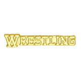 Wrestling Chenille Pin-Pin-Schoppy's Since 1921