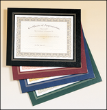 Leatherette Frame Certificate Holder-Plaque-Schoppy's Since 1921
