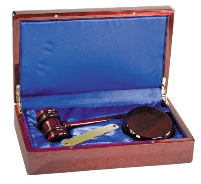 Directors Set Gavel Box-Gavel-Schoppy's Since 1921