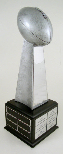 Football Championship Large Resin On Perpetual Base-Trophy-Schoppy's Since 1921