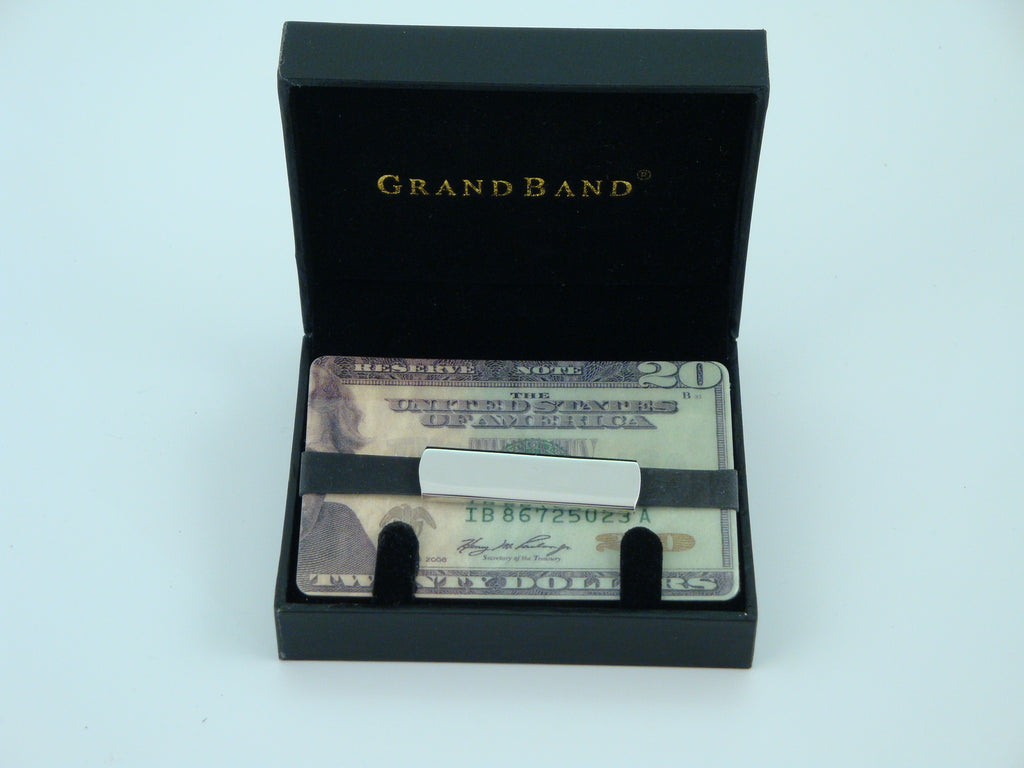 Grand Band Stainless Steel Plain