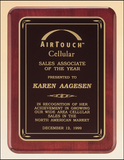 Rosewood 9 x 12 Plaque Engraved-Plaque-Schoppy's Since 1921