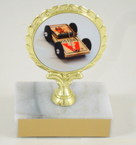 Mouse Trap Racing Logo Trophy