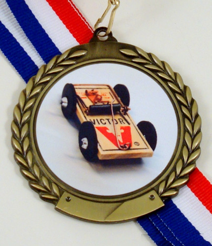 Mouse Trap Racing Logo Medal