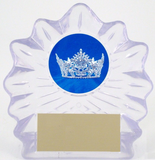 Pageant Logo on Lg. Shell Acrylic-Trophies-Schoppy's Since 1921