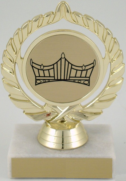 Seal Trophy with Crown Logo Small