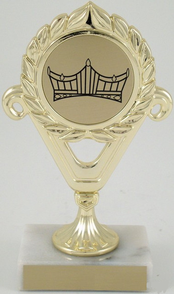Seal Trophy with Crown Logo