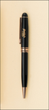 Euro Pen - Black with Gold accents-Pen-Schoppy's Since 1921