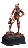 Bronze Plate Lifting Weightlifting Award-Trophy-Schoppy's Since 1921