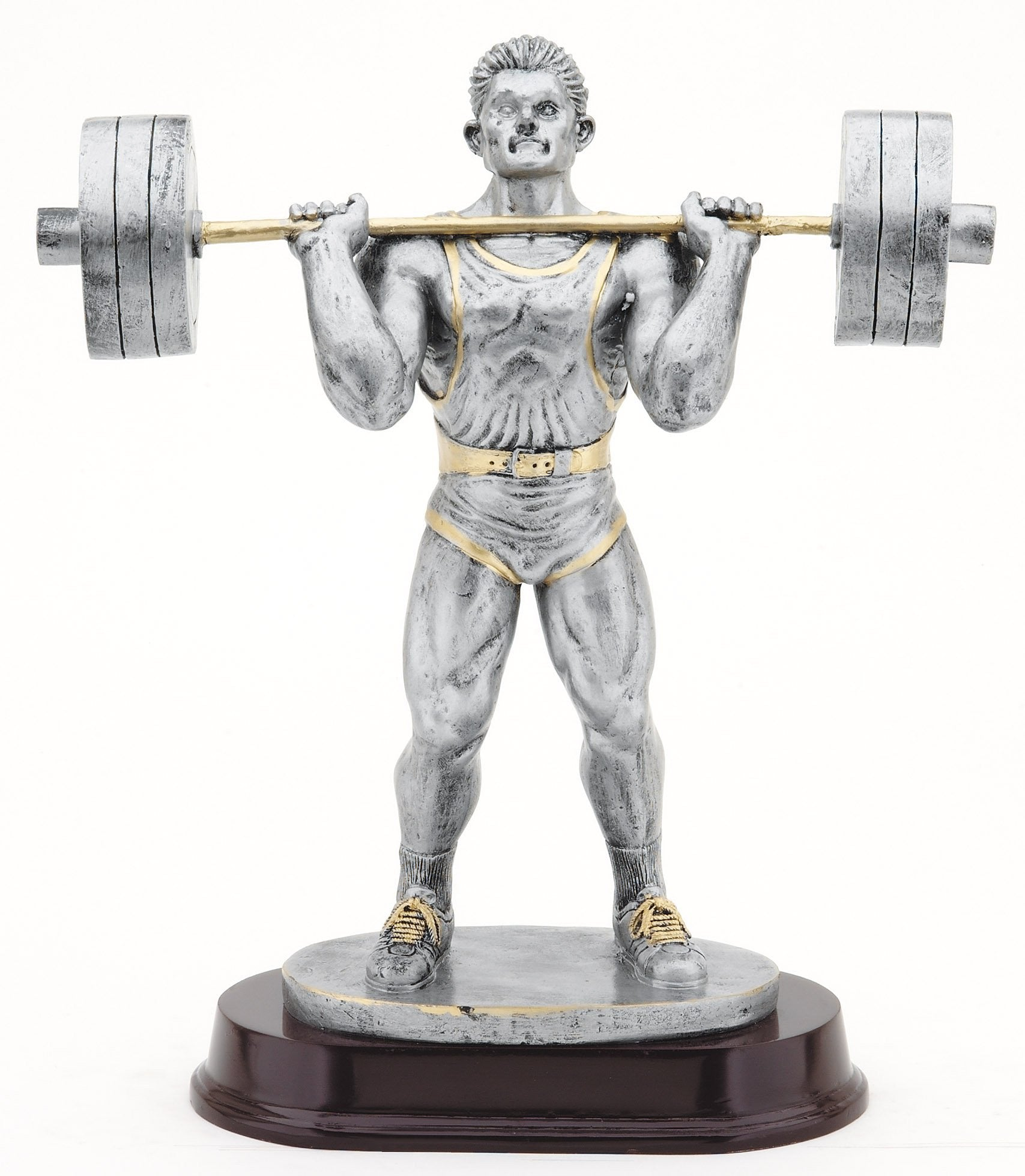 Bar Press Weightlifting Award-Trophy-Schoppy's Since 1921