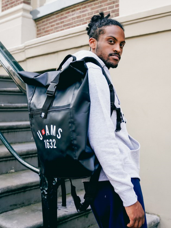 U x AMS backpack