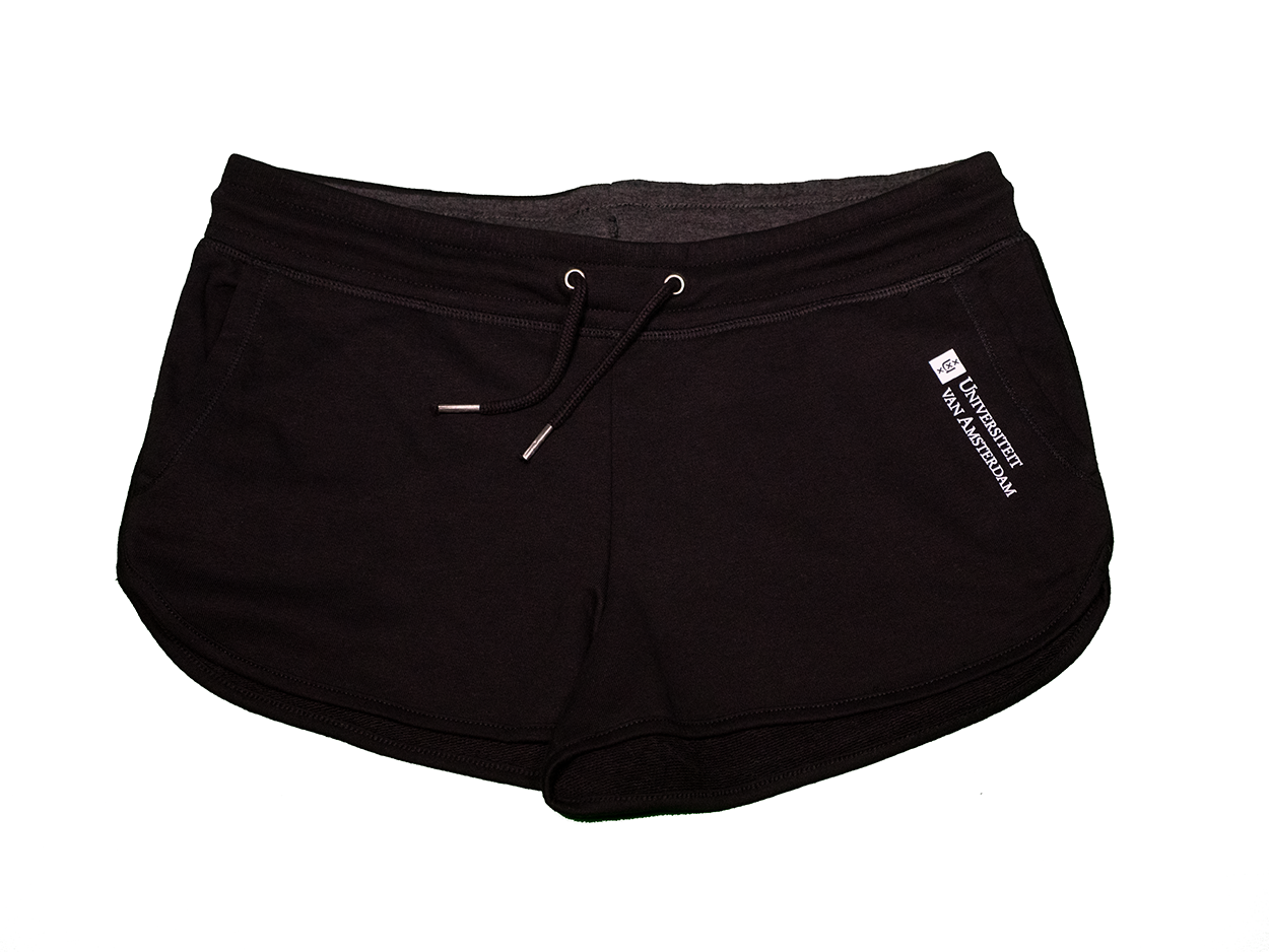 Womens UvA University of Amsterdam shorts in multiple colours