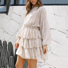 Load image into Gallery viewer, Fashion Print Long Sleeve Mini   Dress