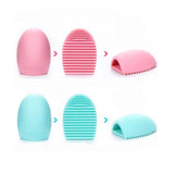 Silicone Egg Glove Cosmetic Makeup Brush Cleaner