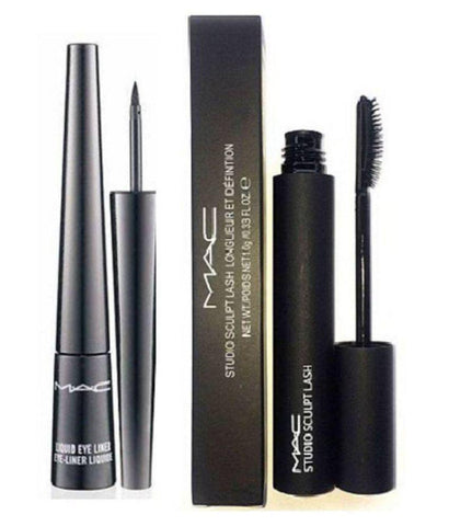 MAC Liquid Eyeliner & Mascara (Pack of 2)