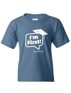 7545e9d20 Tell the world that you re first in your family to go college in this sharp  T-shirt! – I m First