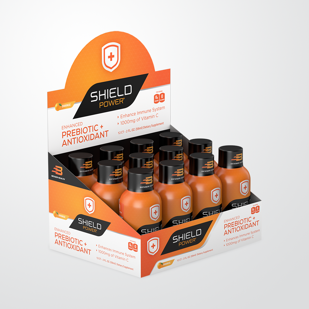 Shield Power - 2 oz. Shots (12 Pack)