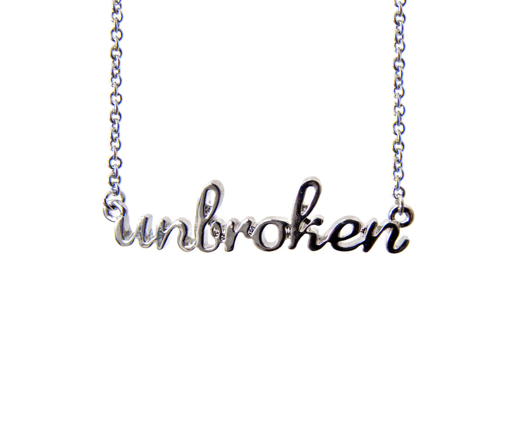 The Unbroken Necklace in Silver - Benefiting Phoenix Multisport
