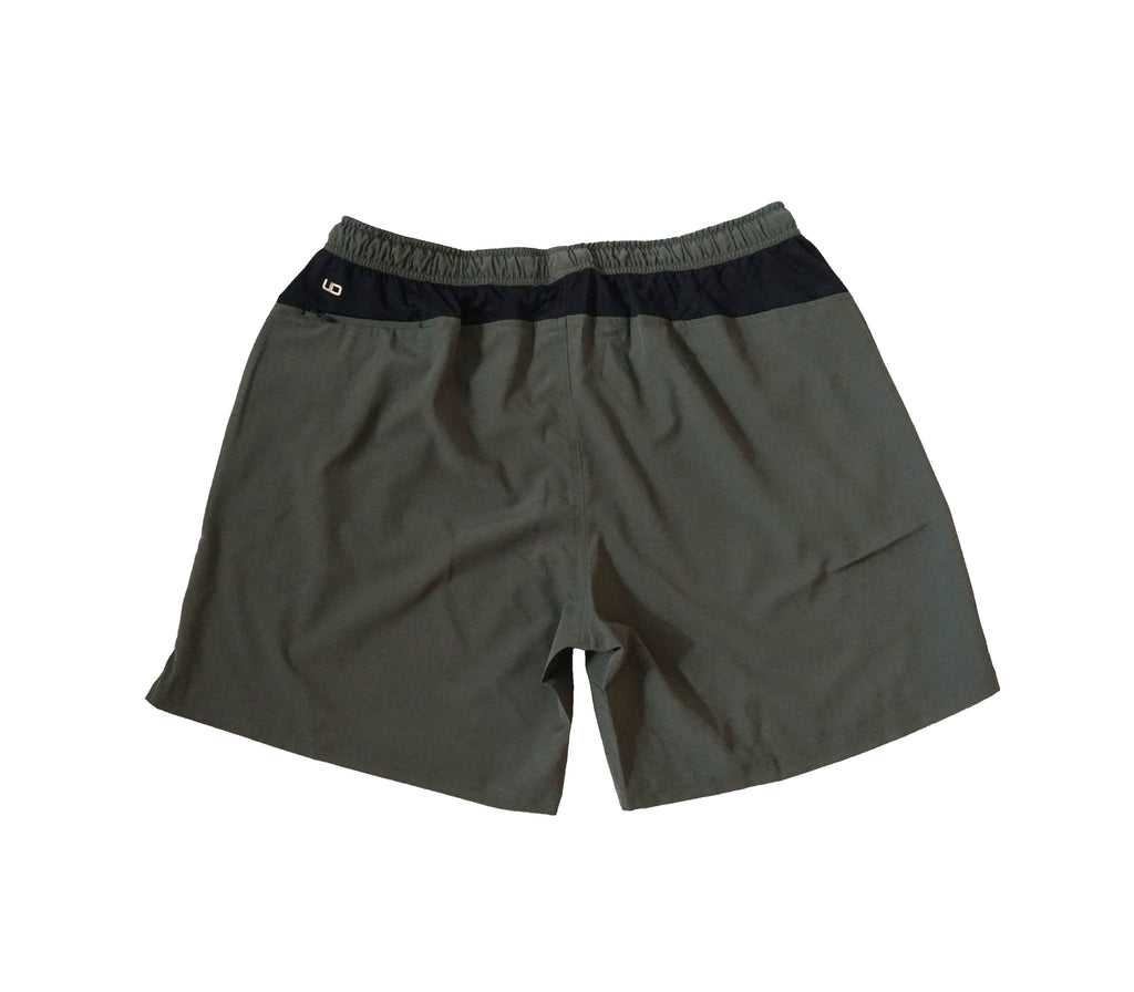 The Ruckus Shorts in Olive Green