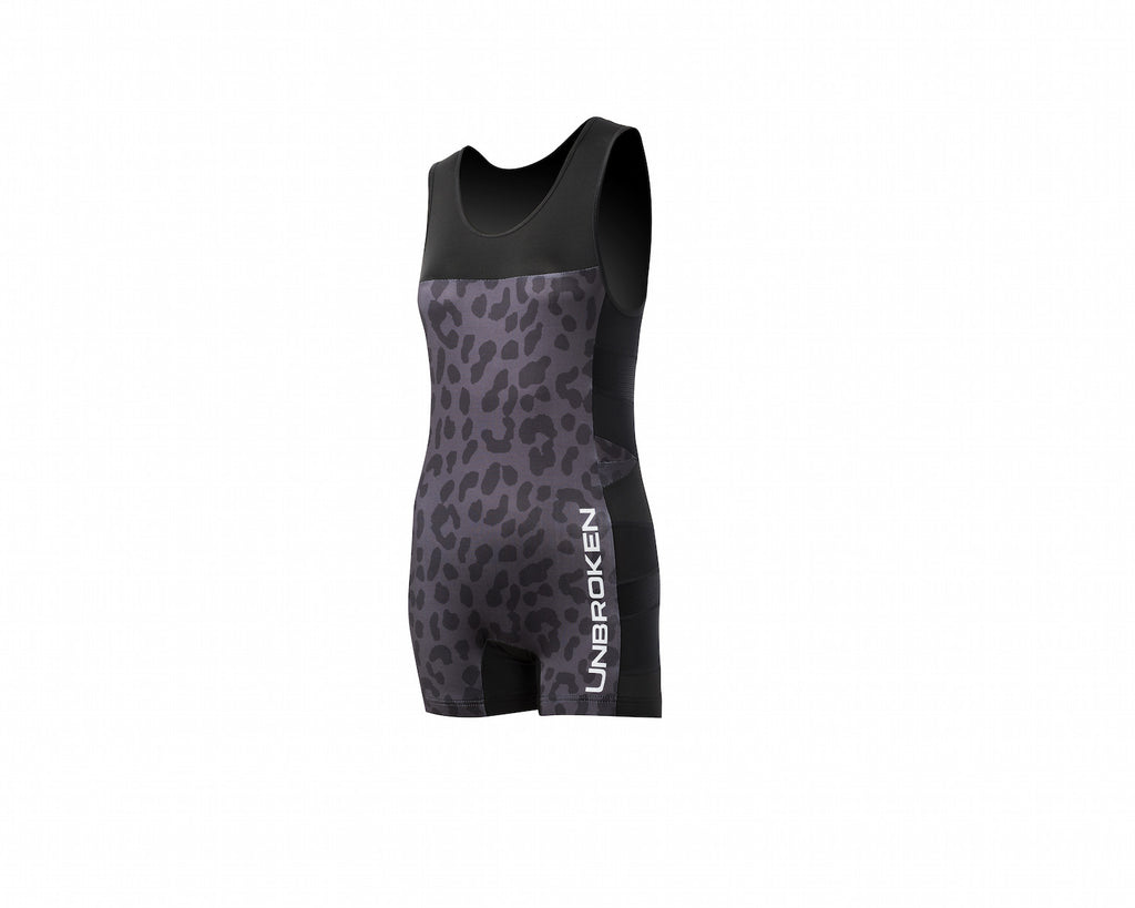 Leopard and Lace Singlet