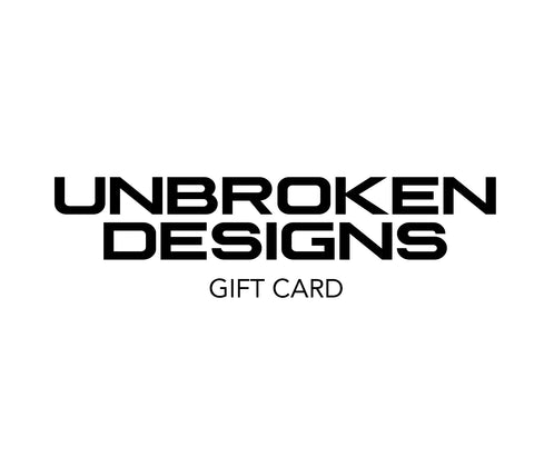 Unbroken Designs Gift Card