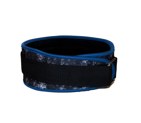 "Blue Stealth 4"" Lifting Belt for Men"