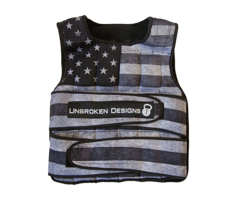 Stars and Stripes 40lb Weight Vest