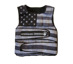 Weight Vest - Stars and Stripes 40lb