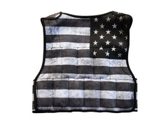 Weighted Vest - Stars and Stripes Cropped 20lb