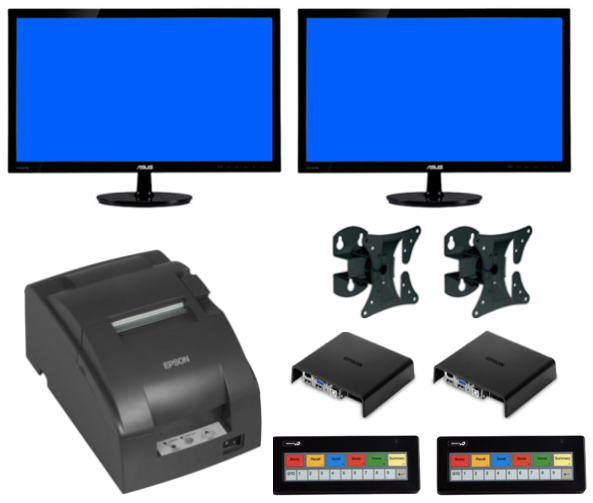 Epson® KDS Dual Station Kit