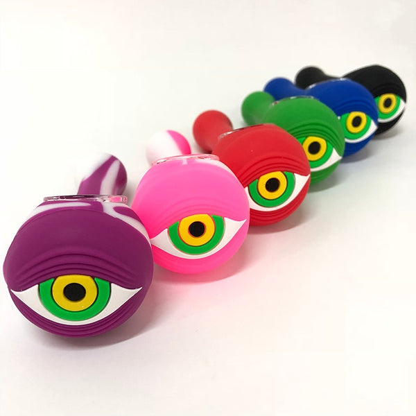 Eye & Cat Silicone Pipes
