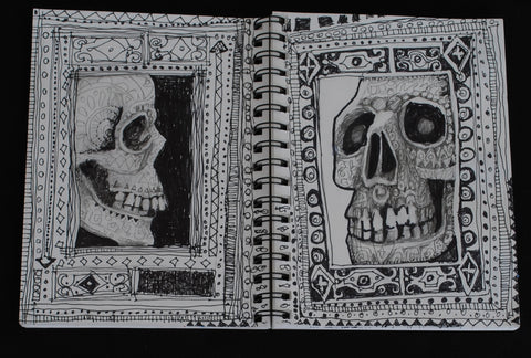 Sketchbook drawing by Anne Bagby