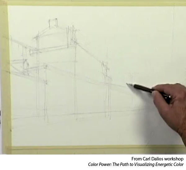 Learn to paint watercolor with Carl Dalio