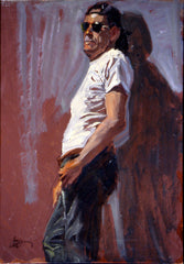 Craig Nelson, Oil, Portrait - Using Quick Studies Technique