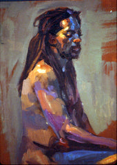 Craig Nelson, Oil Study, Using the Quick Studies Technique