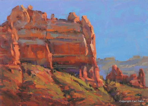 'ABOVE SEDONA - SNOOPY ROCK' - by Carl Dalio