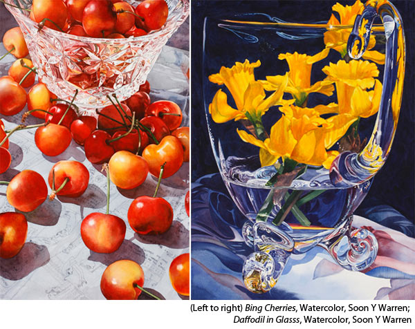 Learn to paint watercolor with Soon Y Warren's online watercolorist workshops