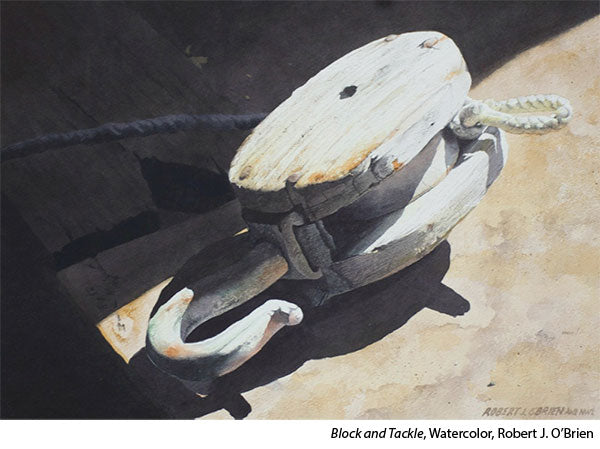 Interview with watercolorist Robert J O'Brien