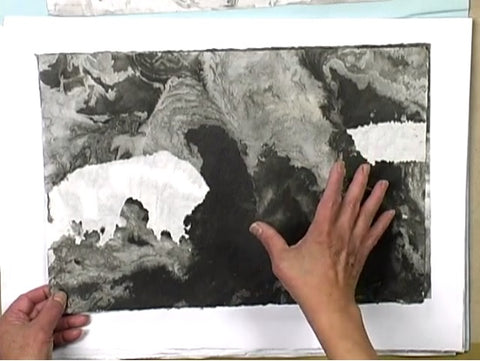 DVD Marbleizing & Monoprinting with Cheng-Khee Chee by Creative Catalyst Productions