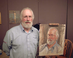 Craig Nelson Portrait and Model at Creative Catalyst, using the Quick Studies Method