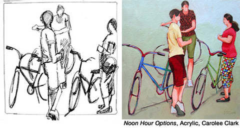 Noon Hour Options by Carolee Clark