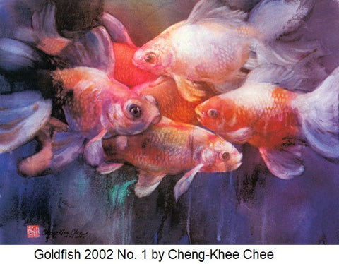 Goldfish 2002 No. 1 by Cheng-Khee Chee