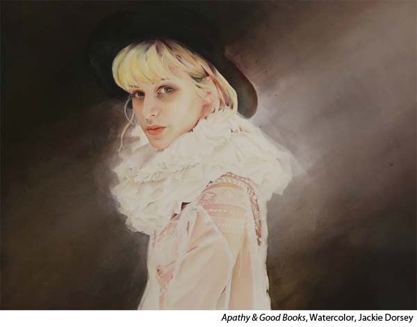 Interview with watercolor portrait painter Jackie Dorey