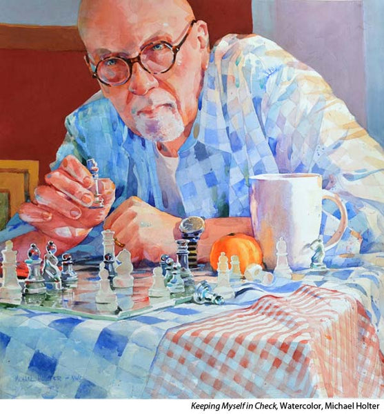 Watercolor portraiture with Michael Holter
